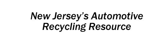 Automotive Recycling Resource for New Jersey